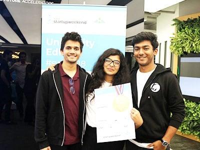 BBA Jaguars Ace Startup Weekend: University Edition at the Dubai Future Accelerators