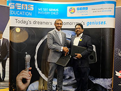 SP Jain signs MOU with GEMS education
