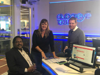 Prof. Christopher Abraham interviewed by Dubai Eye 103.8