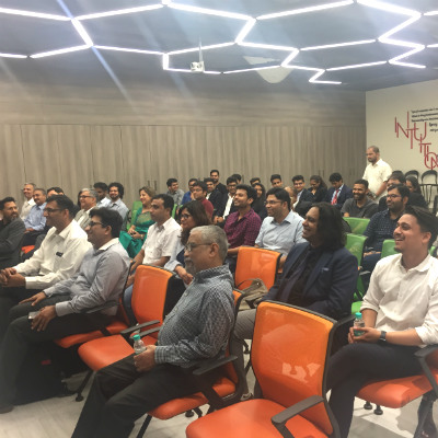 Attendees at the Knowledge Share event organised by SP Jain School of Global Management