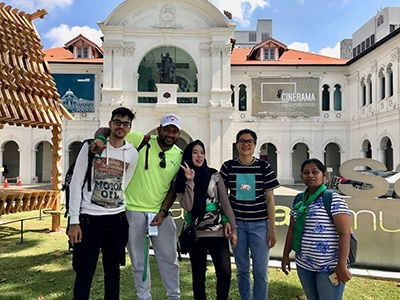 Amazing Race – PG Students Engage in a Global Learning Activity in Singapore