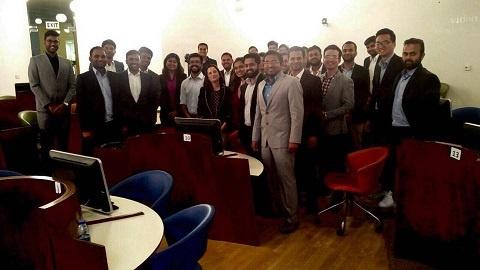 Beatriz Atienza Addresses SP Jain Dubai on Supply Chain Process