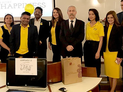 SP Jain Dubai Campus Launches the Centre of Excellence for Happiness