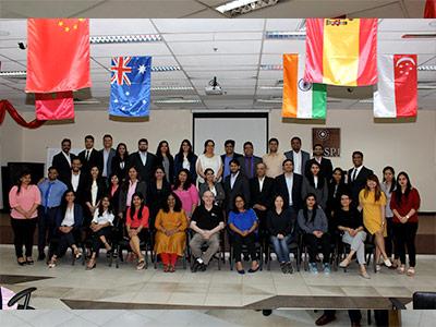 EMBA Mumbai Cohort Visits Dubai