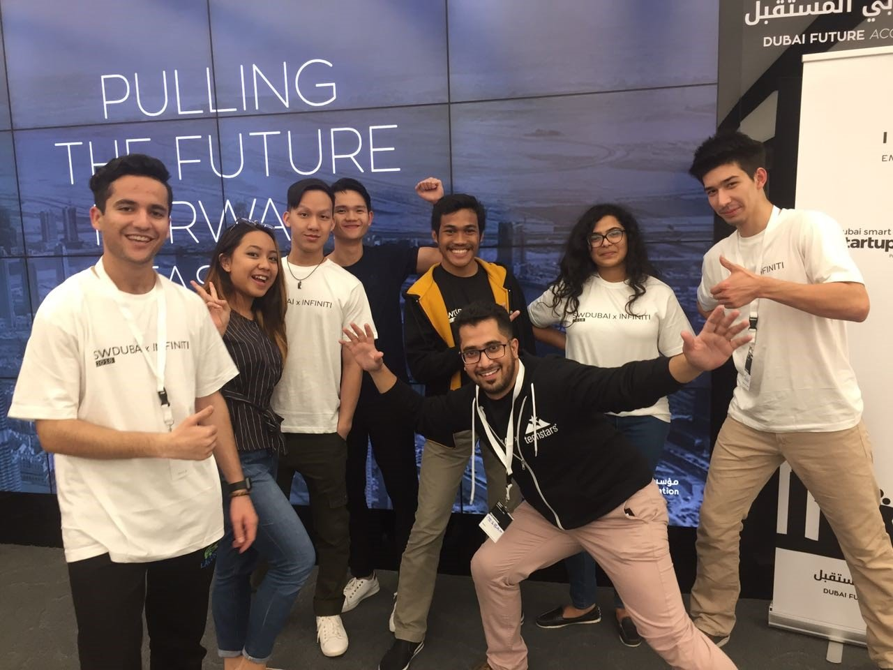 SP Jain Dubai saw Jaguars ace at Entrepreneurship - Tech Startup Weekend 2018
