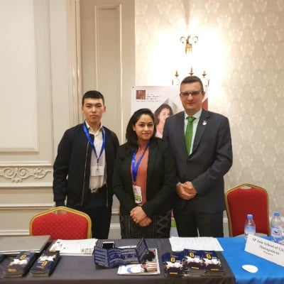 SP Jain Dubai participates in the first Kazakhstan International Education Fair