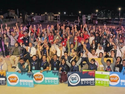 BBA Jaguars Ace the Entrepreneurial Pitch at Seaside Startup Summit, Ras Al-Khaimah