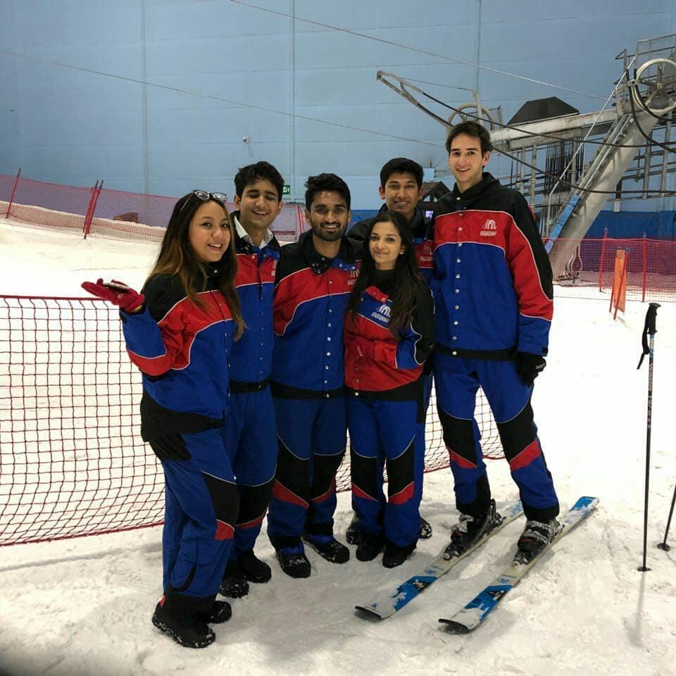 BBA Jaguars visit Ski Dubai