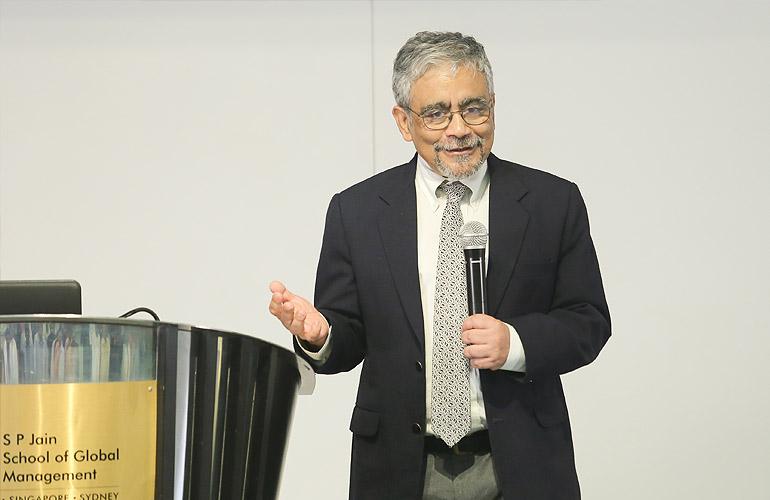 Dr Debashis Guha, Associate Professor and Director – Machine Learning, SP Jain