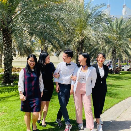 BBA Jaguars win 1st place in IMA Student Case Competition - Middle East 2020