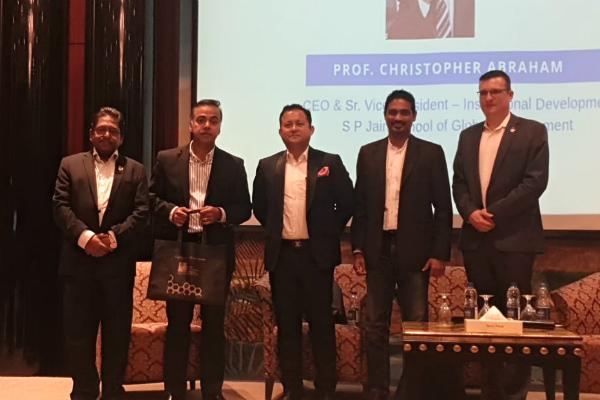 SP Jain hosts Corporate Meet in Dubai