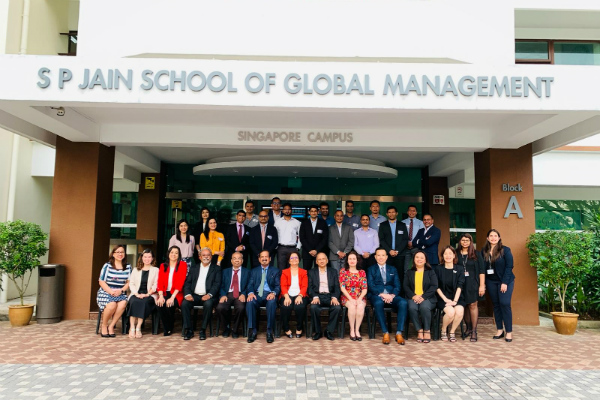 Welcoming the Executive MBA May 2019 cohort in Singapore