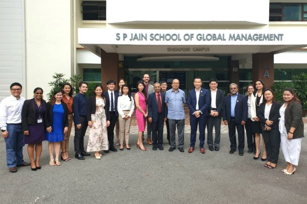 SP Jain welcomes Ambassador of the Republic of the Philippines, His Excellency Mr Joseph Del Mar Yap, to Singapore Campus
