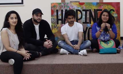 Team Happiness talks about the UAE Undergraduate Research Competition