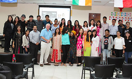 Small stage for big talents: Cross cultural celebration in Dubai