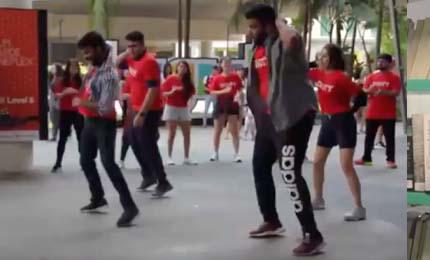 Flash Mob at FAME Bugis+, Singapore