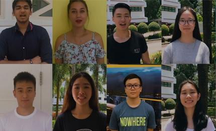 21 Nationalities. 1 Global Classroom