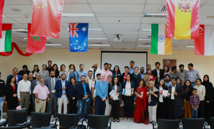 SPJ Toastmasters Club hosts the Area Annual Speech Contest in Dubai
