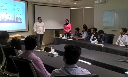 Industry Visit with Microsoft: Lesson on technological business solutions & creating unique customer experiences
