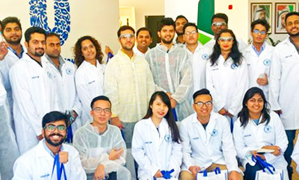 Manufacturing is key to a sustainable future – Postgraduate students visit Unilever Dubai