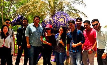 Postgraduate Students visit Camelicious in UAE