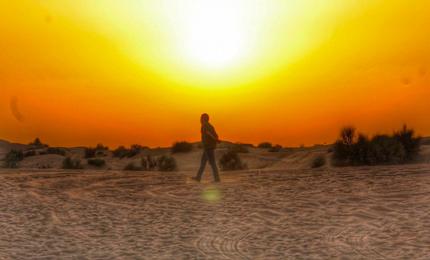 Dune bashing in Dubai – 'Heart full of memories & phone full of pictures'