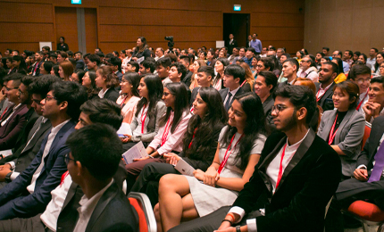 BBA September 2019 cohort begins their global journey in Singapore