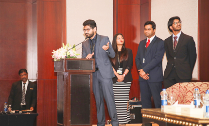 Students present industry projects at Corporate Partner Meet 2019