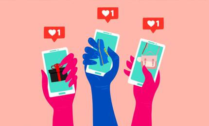 Fashion Retail & Social Media: An analysis by MGB student Maniza Jalal