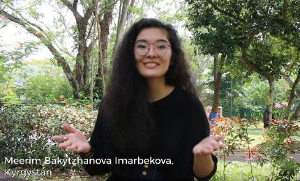 First Year at SP Jain Global - Meerim Imarbekova (BBA Sep'18)