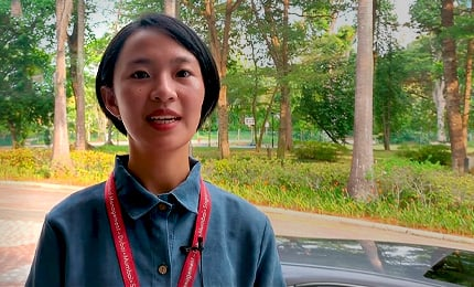 Vy Ha Nguyen (BBA'19) talks about the student life in Singapore
