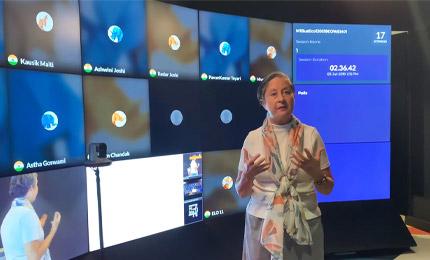 Dr CJ Meadows' experience at SP Jain's ELO studio