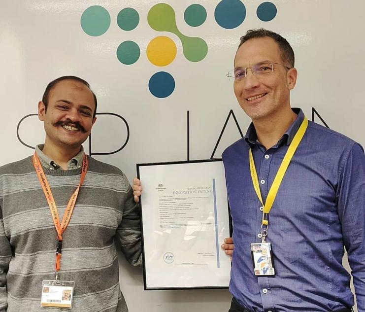 Dr Nicolas Hamelin awarded an innovation patent