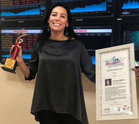 Dr Silvia Vianello, Director – Innovation at SP Jain, won the Pioneering Woman Leader Award