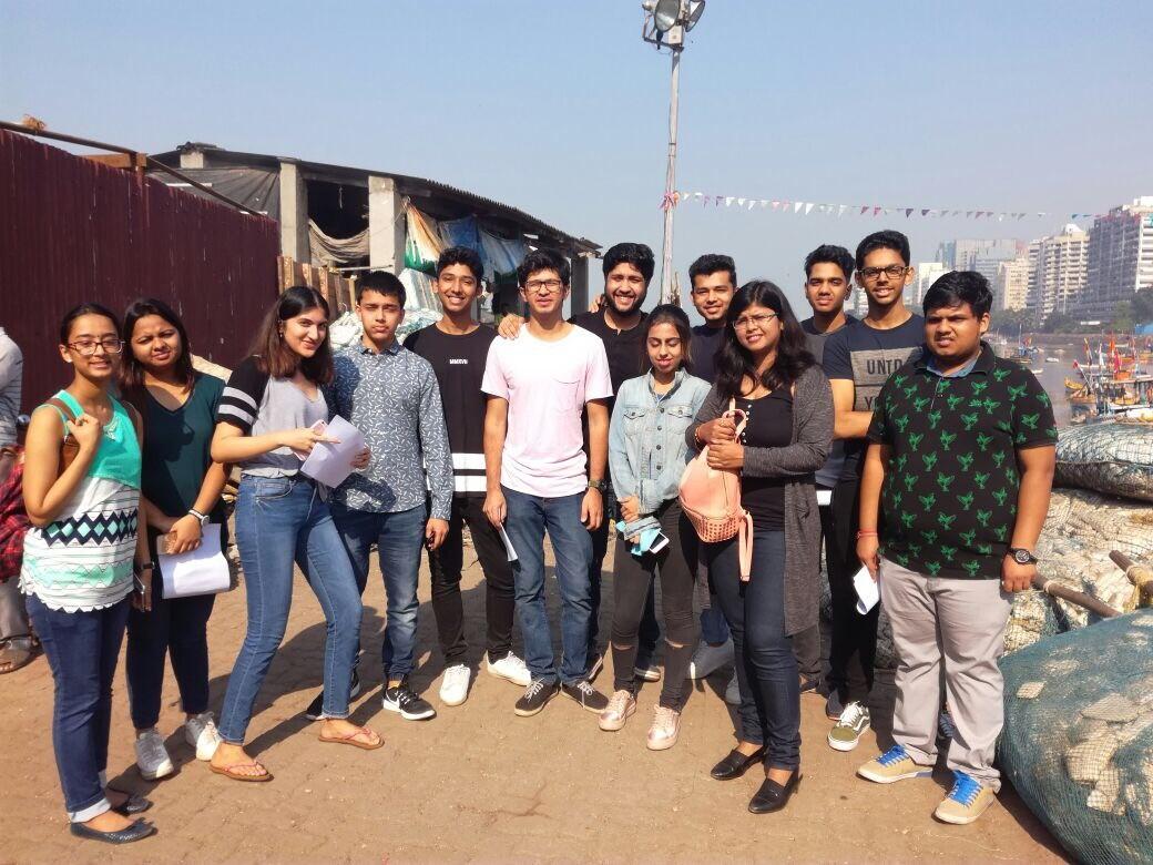 The People of Mumbai Tour – BBA Jaguars undertake a cultural tour in Mumbai