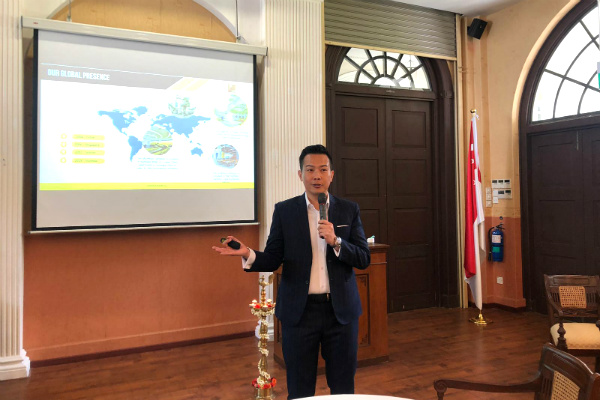 Dr. John Fong, CEO & Head of Campus (Singapore), delivered an engaging Welcome Address at the Undergraduate Orientation