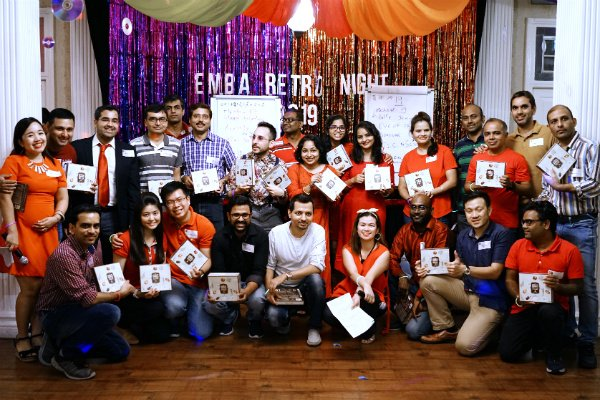 SP Jain thanked its EMBAssadors with a retro-themed Appreciation Night at the Singapore campus