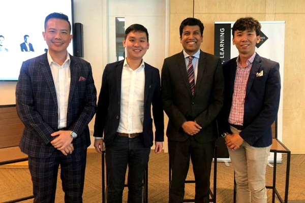 Dr. John Fong speaks at the Singapore Global Investment Summit