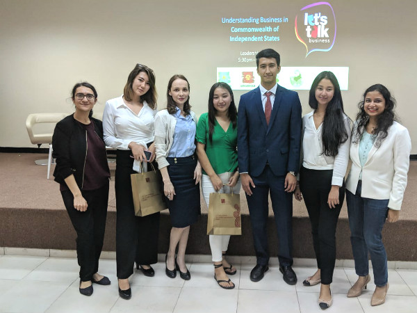 Generating Global Awareness, Interaction and Inclusion with Let's Talk Business Series: Understanding business in CIS countries