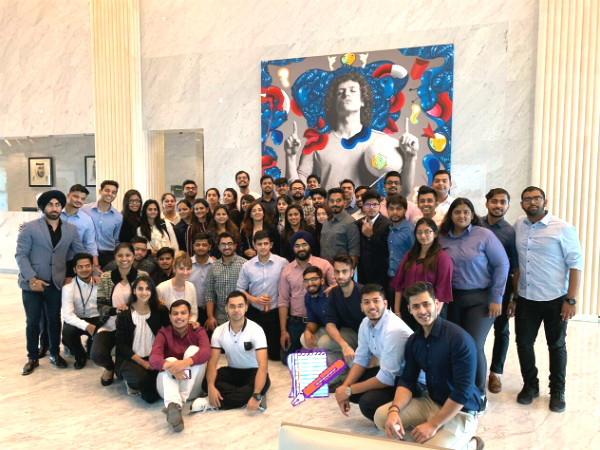 Understanding the competitive soft beverage industry through Global Learning visit to PepsiCo in Dubai