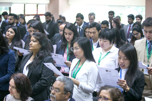 SP Jain welcomes the Postgraduate cohort of January 2019 at Singapore campus