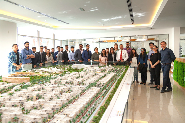 Global Learning: MGB students visit The Sustainable City in Dubai